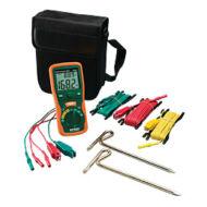 Extech 382252 földelési ellenállásmérő klt