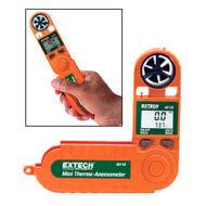 Extech 45118 légsebesség és hőmérsékletmérő
