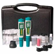 Extech DO610 ExStik II Oldott oxigén, pH, Vezetőképesség, TDS, Sótartalom és Hőmérséklet Klt