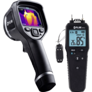 Flir E6xt hőkamera + Flir MR55 nedvességmérő