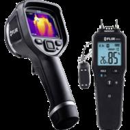 Flir E8xt hőkamera + Flir MR55 nedvességmérő
