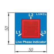 Lumel LLI3 külső fázis kijelző