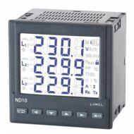 Lumel ND10 3-fázisú hálózati teljesítménymérő