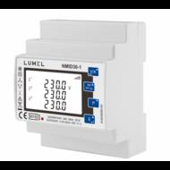 Lumel NMID3-1 1- és 3-fázisú hálózati teljesítmény- és energiamérő
