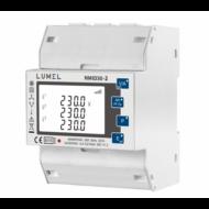 Lumel NMID3-2 1- és 3-fázisú hálózati teljesítmény- és energiamérő