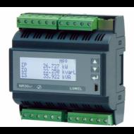 Lumel NR30IoT DIN sínre szerelhető 3-fázisú hálózati teljesítménymérő