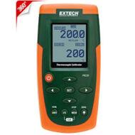 Extech PRC20 Hőmérsékletmérő Kalibrátor 8 Hőelemtípus