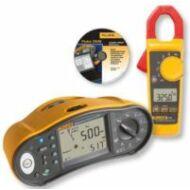 Fluke 1664FC univerzális érintésvédelmi műszer, ajándék Fluke 325 lakatfogóval, szoftverrel