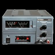Extech 382203 30V/3A + fix 5V és 12V DC tápegység analóg kijelzős