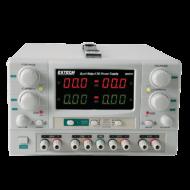 Extech 382270-E 4-in-1 2x 30V/5A és fix 3-6.5V/3A és 15V/1A DC tápegység