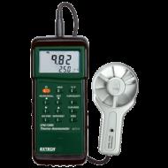 Extech 407113 Légsebességmérő, fém lapátkerékkel