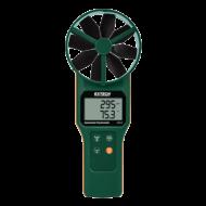 Extech AN310 Légsebességmérő, CMM, Nedvességmérő