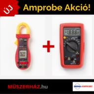 Amprobe ACD-10 Plus 600A AC digitális lakatfogó + Amprobe AM-500 multiméter