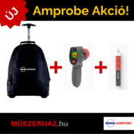 Amprobe IRC-110-EUR-Kit vizuális infrahőmérő, hőkamera + NCV-1020 feszültség kereső + Húzós táska/Hátizsák