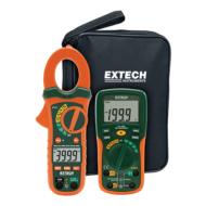 Extech ETK35 Digitális multiméter TrueRMS lakatfogóval készletben