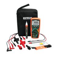 Extech EX505-K  Ipari multiméter és AC feszültség kereső készletben