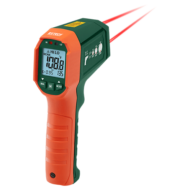 Extech IR320 Vízálló infrahőmérő riasztással, 12:1, 650 Celsius