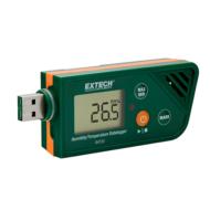 Extech RHT30 Hőmérsékletmérő és páratartalom adatgyűjtő
