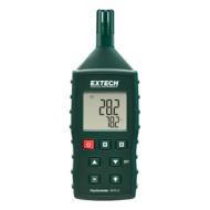 Extech RHT510 Hőmérséklet, páratartalommérő és pszichrométer