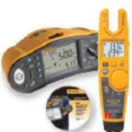 Fluke 1663 univerzális érintésvédelmi műszer, ajándék Fluke T6-600 teszterrel és DMS szoftverrel
