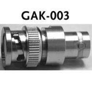 GW Instek GAK-003 50Ohm-os impedancia adapter