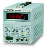 GW Instek GPS-3030DD 30V-3A, 1 csatornás, trafós tápegység, dupla LED kijelző