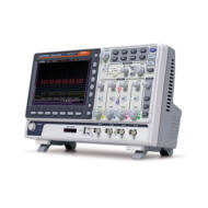 GW Instek MSO-2202EA 200MHz, 2CH digitális oszcilloszkóp, 16CH logikai analizátor, 25MHz 2CH arbitrázs generátor