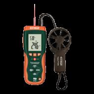 Extech HD300 Légsebességmérő, CMM, infrahőmérővel