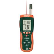 Extech HD500Pszichrométer beépített infrahőmérővel