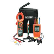 Extech MA640-K Ipari lakatfogó, feszültség kereső és forgásirány teszter mérőkészlet
