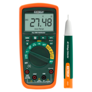 Extech MN62-K TrueRMS multiméter és feszültség kereső készletben