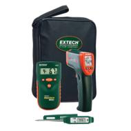 Extech MO280-KH2 Nedvességmérő készlet lakások profi ellenőrzéséhez