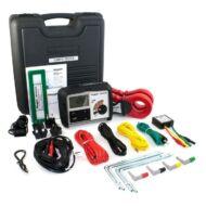 Megger DET4TCR2 + Kit 4-pólusú földelési ellenállásmérő lakatfogókkal és Pro ET Kit