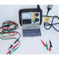 Megger LRCD200 Hurokimpedancia és RCD teszter