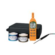 Extech RH305Hőmérséklet, páratartalommérő és pszichrométer műszer készletben