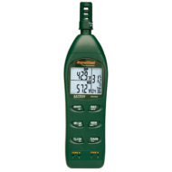 Extech RH3502CH Hőmérséklet, páratartalommérő és pszichrométer műszer készletben