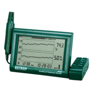 Extech RH520A-220 Hőmérséklet és páratartalom mérő és adatgyűjtő