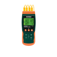 Extech SDL200 Hőmérsékletmérő műszer és adatgyűjtő, 4CH