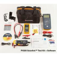 Seaward SolarLink Test Kit (PV200+SS200R+Rögzítő keret+SolarLink) Napelem rendszer telepítő tesztkészlet és szoftver