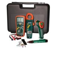 Extech TK430-IR Ipari hibaelhárító mérőműszer készlet infrahőmérővel