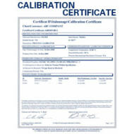Raytek SERR3IPLUSISO ISO kalibrálás Raytek i3Plus sorozathoz