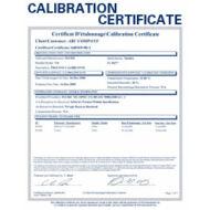 Kalibrálás - Szigetelésvizsgáló mérőműszer 5 ponton