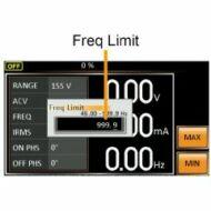 GW Instek APS-004 45-999.9Hz kimneti frekvencia teljesítmény