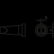 Weller LT B pákahegy 2.4mm