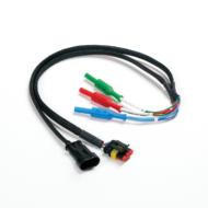Pico TA267 3-pin AMP Superseal csatlakozós Y kábel