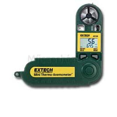 Extech 45158 légsebesség és hőmérsékletmérő