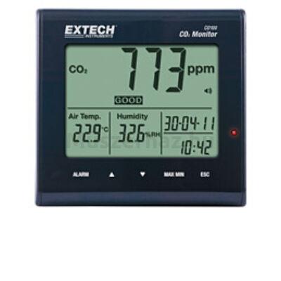 Extech CO100 Levegőminőség (CO2) monitor beltérre