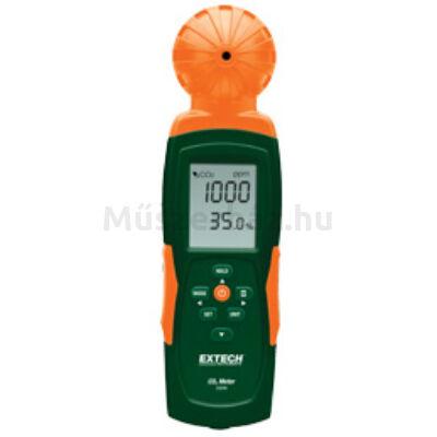 Extech CO240 Levegőminőség (CO2) monitor beltérre