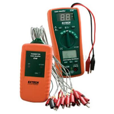 Extech CT40 16 csatornás kábel azonosító/tesztelő műszer