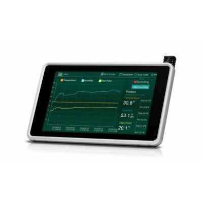 Extech RH550 Hőmérséklet és páratartalom mérő és adatgyűjtő